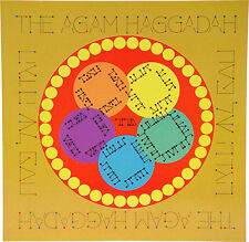 Soft Cover Passover Haggadah, Renowned Artist J. AGAM Design, Made in Israel *