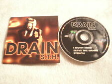 RARE PROMO ONLY Drain S.T.H. CD Horror Wrestling SAMPLER Sweden metal 1996 3 trx