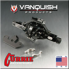 Vanquish VPS06601 Currie Rockjock Front Axle Assembly Black Axial SCX10