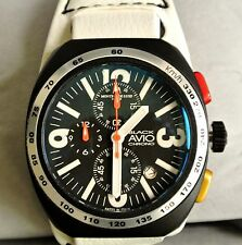 Montres De Luxe Milano - Men's Avio Brand New Ultra Lite Chronograph with Date