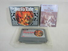 BARD'S TALE Bards Famicom NES Nintendo Japan Boxed Game fc