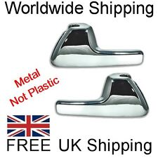 Chrome Metal Inner Door Handle Set VW Golf MK3 JOM Made in Germany