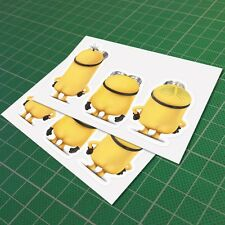 Minion Butt Back Naked Sticker Decal Vinyl Car JDM Window Drift Funny 100mm 4''