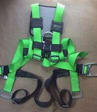 Miller HP 552 Green Universal Vest-Style Body Harness - 552T-UGK With Back PAD