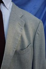 STAPLE Brooks Brothers Beige Herringbone Wool Blazer ~ 100% Wool size 48L