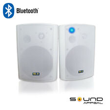 "Wireless Outdoor Bluetooth Speakers: BT Blast 6.5"" by Sound Appeal (White,"