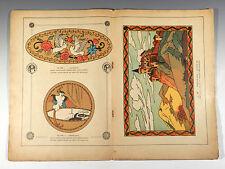 L'ARTISAN PRATIQUE 1920 ° Katalog no. 127 für Art Deco Kunstgewerbe Arbeiten