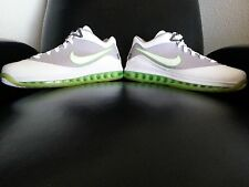 Nike Air Max Lebron VII 2010 Dunkman Low White/Electric Green Size 10.5 (New!)