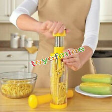 Kitchen Corn Cob Remover Stripper Peeler Thresher Cutter Tool Kerneler Stainless