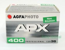 3 rolls AGFA APX 400 35mm 36exp Black and White Film 135-36