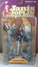 JANIS JOPLIN McFarlane Toys SUPER STAGE Action Figure with Microphone