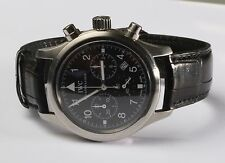 IWC Schaffhausen Fleiger Pilot 3741 Chronograph 36MM Quartz Watch