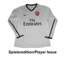 Arsenal Londres maillot 2007/09 Nike player issue ls EPL xl shirt Jersey Maillot