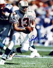 DAN MARINO AUTOGRAPH SIGNED PP PHOTO POSTER
