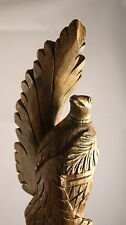 Old Shan Architectural Relief Carving of Peacock 18th century - Burma