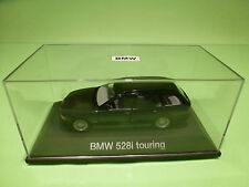 SCHUCO BMW 528i TOURING E39 - ANTHRACITE 1:43 - NEAR MINT CONDITION IN BOX
