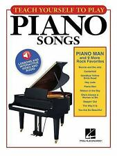 Piano Songs - Play Piano Man and 9 More Rock Favorites (2016, Paperback)