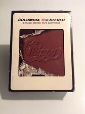 Chicago X 8-Track Tape With Sleeve
