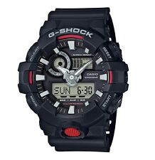 Casio G-Shock * GA700-1A Front Button Anadigi Black Resin for Men COD PayPal
