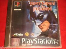 BATMAN & ROBIN PLAYSTATION 1 BATMAN & ROBIN PS1 PSONE PS2 PS3