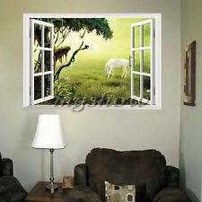 Removable Horse DIY 3D Window Wall Sticker Art Vinyl Decals Home Decor Mural New