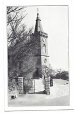 Jersey GOURAY Church ON THE HILL Channel Islands CI C.I. OLD POSTCARD