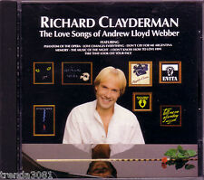 RICHARD CLAYDERMAN Love Songs ANDREW LLOYD WEBBER Greatest 50s ALL I ASK OF YOU