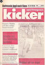 Magazin Kicker 51/1977,Bundesliga,Bayern,Schalke,Frankfurt,HSV