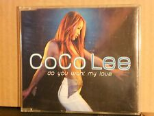 COCO LEE - DO YOU WANT MY LOVE radio edit - 3,53 - cds slim case PROMO