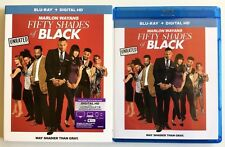 FIFTY SHADES OF BLACK UNRATED BLU RAY + SLIPCOVER SLEEVE FREE WORLD WIDESHIPPING