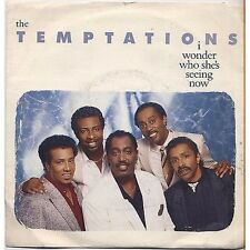 THE TEMPTATION - I wonder who's she seeing 45 RPM 7