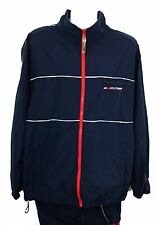 Tommy Hilfiger Men's Two Piece Full Zip Windbreaker Track Suit Size XL
