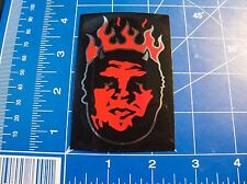 vtg 1990s to 2000s Obey Shepard Fairey skateboard sticker Flaming Andre Giant