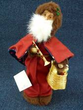 """Byers Choice Caroler 2003 Le Pere Noel 12.5""""  NEW w/ Tag Signed (B553)"""