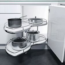 Swing Tray 900 Left Handed Kitchen Cabinet Storage Soft Close Anti Slip Unit!