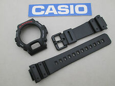 Genuine Casio G-Shock DW6600 DW6900 black resin watch band bezel plastic buckle