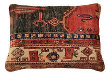Orient Gabbeh Teppich Sitzkissen Bodenkissen 80 x 60 cm Rückenlehne Polster