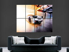 FERRARI POSTER SUPERCAR FAST SPEED RACING  PRINT WALL ART IMAGE PICTURE