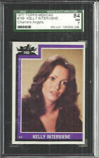 1977 TOPPS MEXICAN CHARLIE'S ANGELS JACLYN SMITH-KELLY #169 SGC 84 (7) NEAR MINT