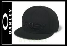 OAKLEY 75' SNAP BACK NEW ERA 9FIFTY HAT CAP APPAREL COLOR JET BLACK (NEW)