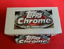 2013 Topps Chrome Football COMPLETE BASE SET 220 Cards Lacy Ball Bell E J RCs