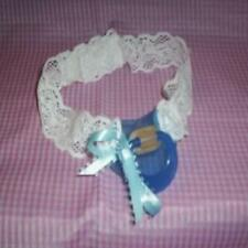 CUSTOM MADE ADULT SISSY BABY STRAP ON -TIME OUT PACIFIER - BLUE