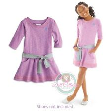 American Girl CL MY AG LILAC DRESS SIZE 10 for Girls Purple Silver Belt NEW
