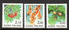 Finland - 1991 Definitives plants - Mi. 1126-28 MNH