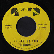 ENERGETICS: Me And My Girl / If At First 45 (faint label stain) rare Soul