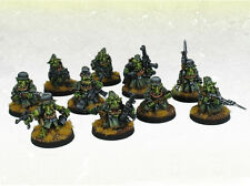 Orco war2 ORC Grot greatcoat IRON Reich Goblin Squad (10) kromlech krm079