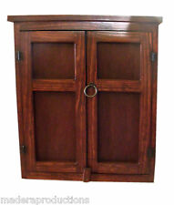 Maderaproductions Arts & Crafts Mission Pine Red Oak Finish Kitchen Wood Cabinet