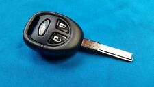 SAAB 9-3 9-5 3 BUTTON REMOTE KEY FOB READY TO BE PROGRAMMED TO YOUR CAR