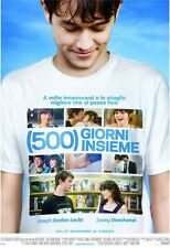 POSTER 500 DAYS OF SUMMER GIORNI INSIEME LOVE COMEDY 2