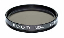 Kood ND4 2 stop Neutral density filter Made in Japan 40.5mm